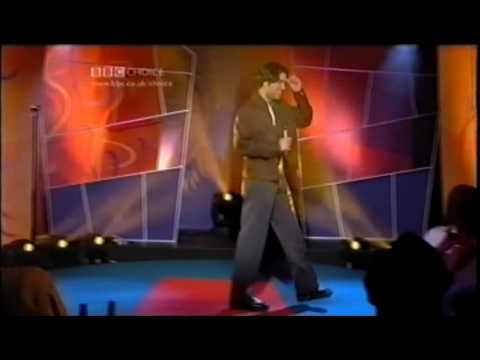 Paul Chowdhry & Russell Peters in London on the BBC 2001.