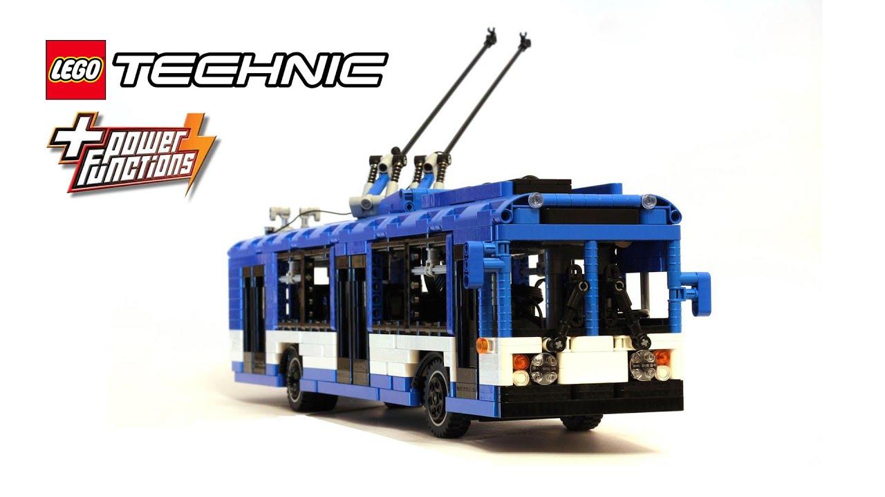 Lego Technic Trolleybus Doovi