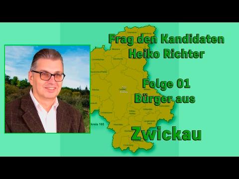 Frag den Bundestags Kandidaten Heiko Richter - Folge 01 - Fragen aus Zwickau