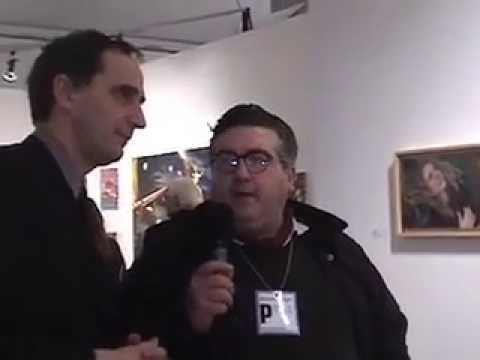 Eric Dupont at Scope New York 2007 with VTV's Theodore Bouloukos