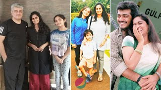Actor Ajith Kumar Family Members with Wife Shalini, Daughter, Son & Biography