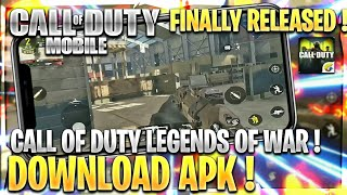 Call of Duty Legends of War - Call of Duty Mobile Finally Released ! Download Apk+Obb - Android/ iOS