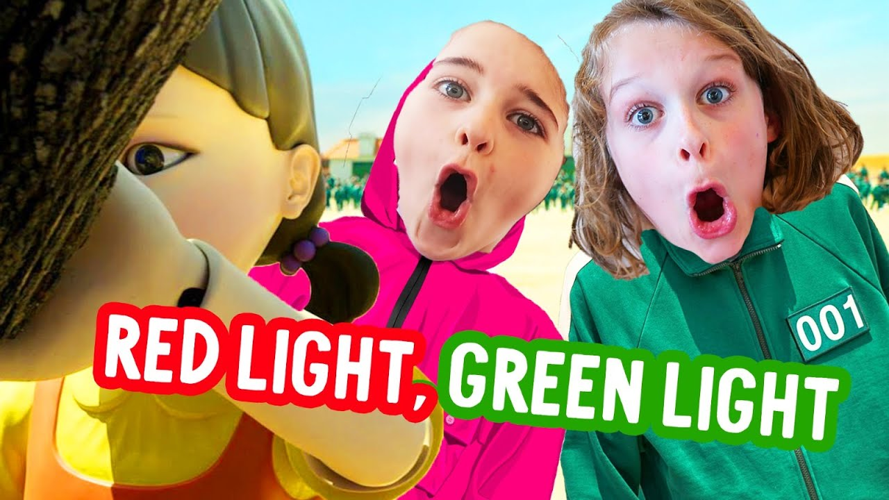 Download RED LIGHT GREEN LIGHT Squid Game - NAZ SURPRISES the Norris Nuts