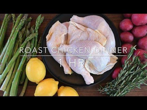 5 Ingredient Meal: Easy Sunday Roast Chicken Dinner
