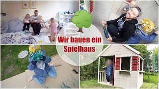 XXL VLOG | Gartenhaus aufbauen & Konfetti Ballons platzen lassen |Isabeau