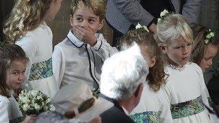Princess Eugenie's bridal party of children