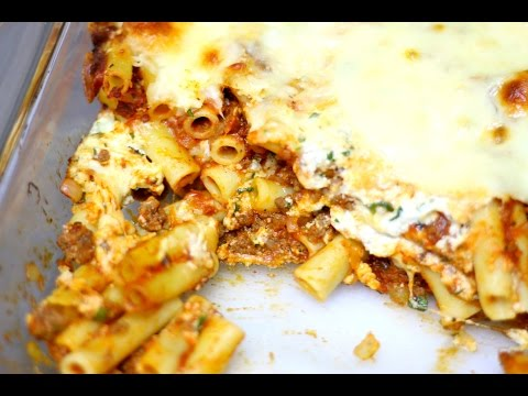 Baked Ziti With Ground Beef - In The Kitchen With Jonny Episode 175