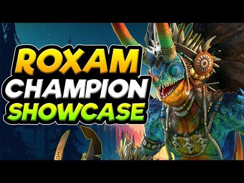 ROXAM THE ASSASIN    CHAMPION SHOWCASE   RAID SHADOW LEGENDS