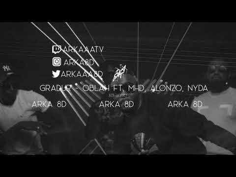Gradur - Oblah ft.  MHD, Alonzo, Nyda (8D AUDIO) 🎧