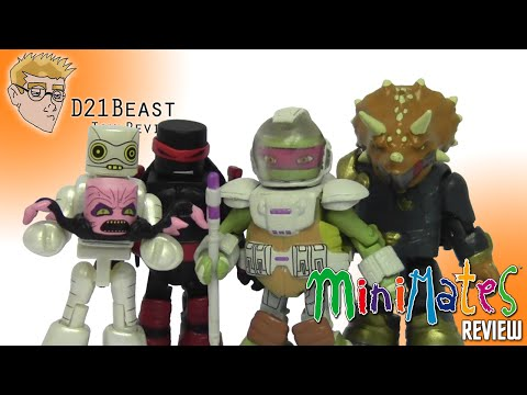 TMNT Teenage Mutant Ninja Turtles Minimates Series 4 Commander Mozar