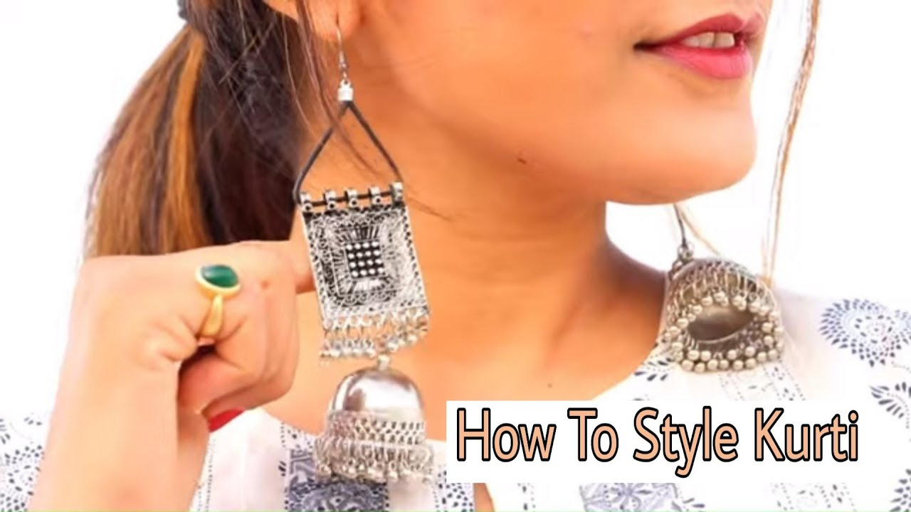 How To Look Stylish In KURTI + GIVEAWAY | ऐसे पहने कुर्ती | Kurti Styling Tips | Super Style Tips