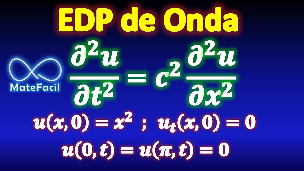 Ecuación de Onda, Separación de Variables