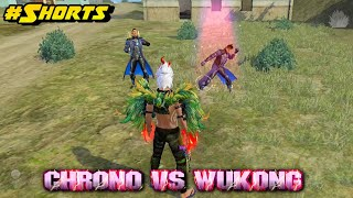 Chrono Vs Wukong : The King Is Back 👑 - Garena Free Fire #Shorts