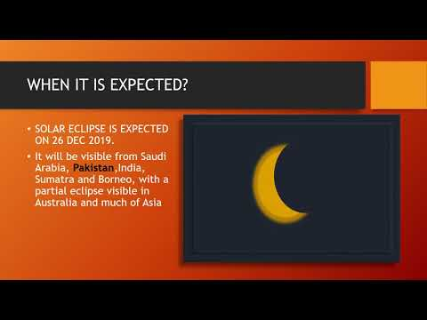 Solar ECLIPSE: How To See It Safely?