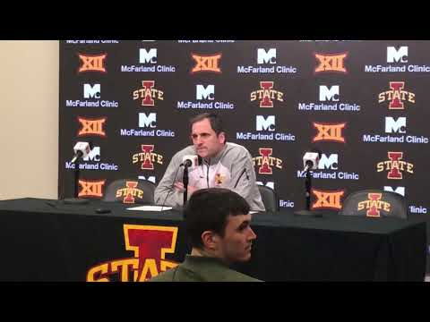 Dave Sprau - VIDEO: ISU Men's Basketball Coach Steve Prohm