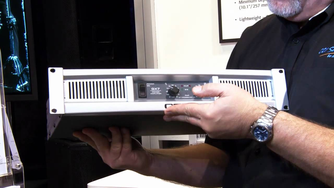 QSC GX Series Power Amplifier - Quick Review Qsc Gx Schematic on