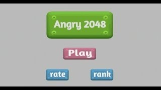2048 Game - Angry 2048 Android App Review Video