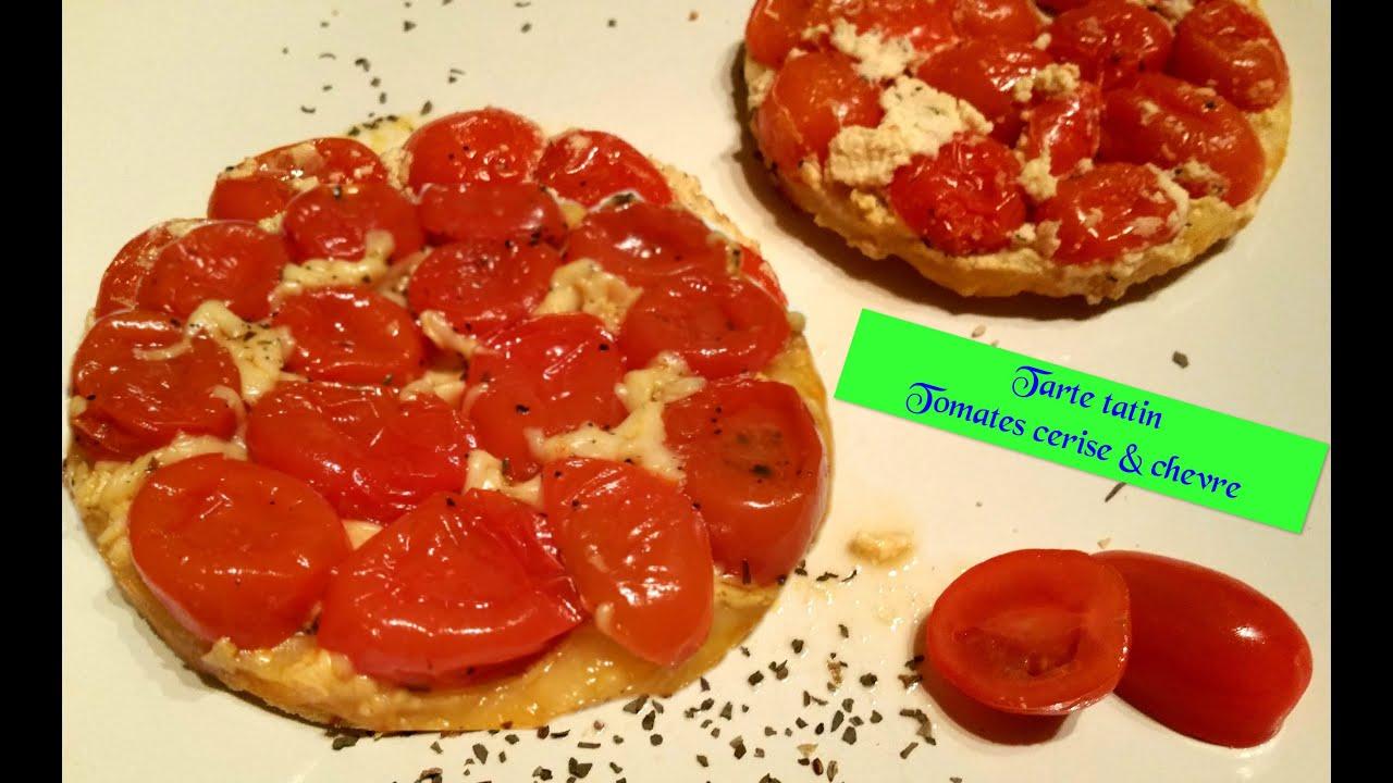 tarte tatin tomates cerises ch vre variantes n 5 youtube. Black Bedroom Furniture Sets. Home Design Ideas