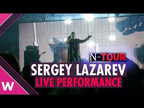 "LIVE: Sergey Lazarev ""SCREAM"" @ Pforzheim, Germany 