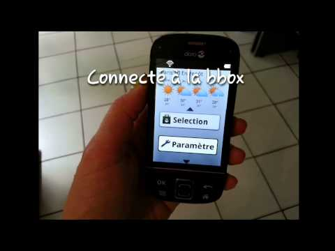 B.présence en test sur DORO easy phone 740