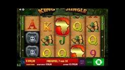Bally Wulff King of the Jungle 30€ Freispiele