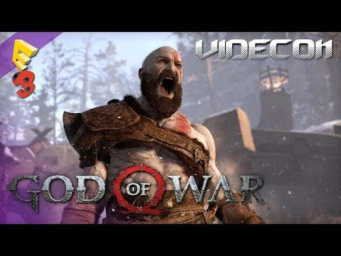 God Of War 4: Gameplay Demo Trailer Debut E3 2016 (Español)