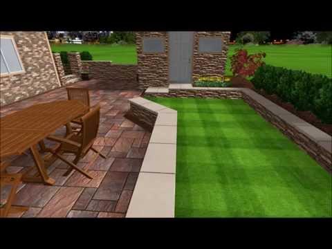 3D Cambridge Paver Patio Design U2013 Whitestone, N Y U2013 Stone Creations Of Long  Island Inc.