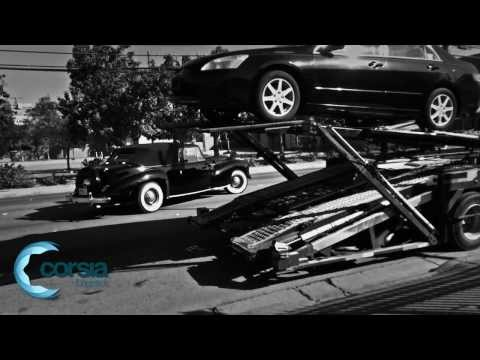 Classic car transport - 1941 Lincoln Continental