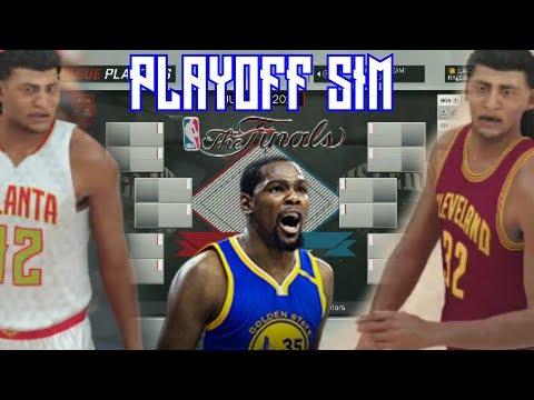 What If Every 2017 NBA Playoff Team Had A DEMIGOD?!? - NBA2K17 PLAYOFF SIMULATION MYLEAGUE