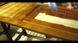 як зробити дерев'яні укоси на двері