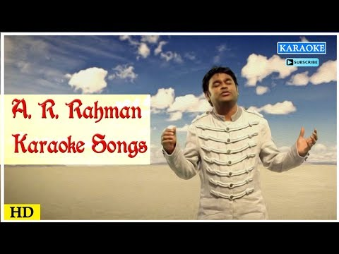 AR Rahman Karaoke Songs | Tamil Karoke Song | Best Of AR Rahman | Tamil Movie Songs | Music Master