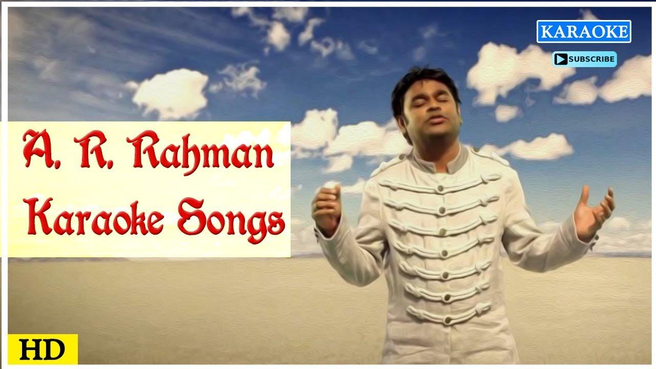 AR Rahman Karaoke Songs   Tamil Karoke Song   Best Of AR Rahman   Tamil  Movie Songs   Music Master