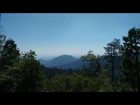 Drone Ambient - 'Linger' by Disasterpiece - 2100% Slower - Sequoia National Park (HD Photos)