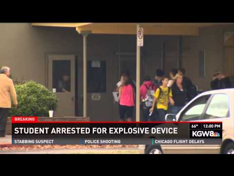 Oregon Student Arrested For Bringing Bomb To School