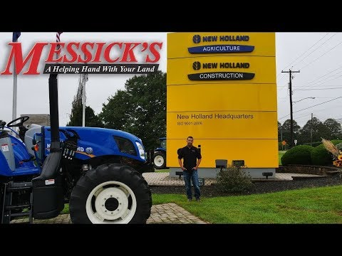 New Holland Hay Tools Plant Tour - Parts Production
