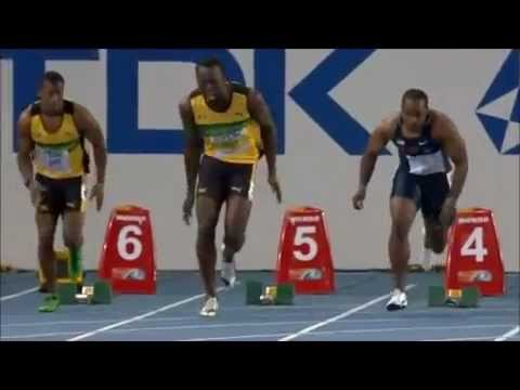 Usain Bolt wants to fight after false starting 100m