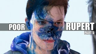 """Detroit Become Human - """"What Happens When"""" Connor Interrogates Rupert In The Evidence Room - Part 5 thumbnail"""