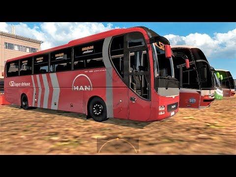 ETS2 Long Trip: Kushtia to Dhaka (SB Super Deluxe MAN AC coach)