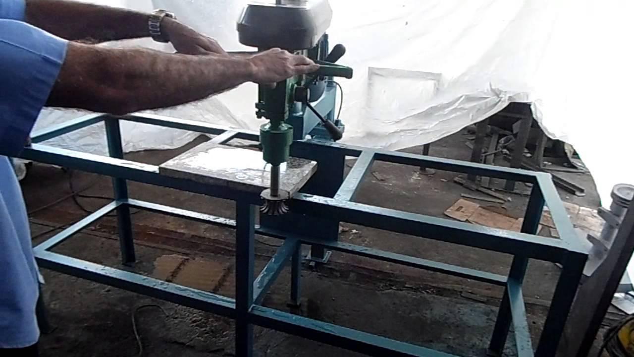 Furadeira para granito e marmore rv 200 com dispositivo - Como cortar marmol encimera ...