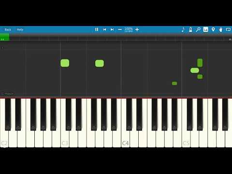 Nanban BGM Piano Tutorial