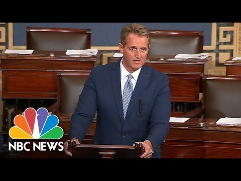 Watch Jeff Flake's Full Senate Floor Speech On His Retirement, The GOP's Future And Trump | NBC News