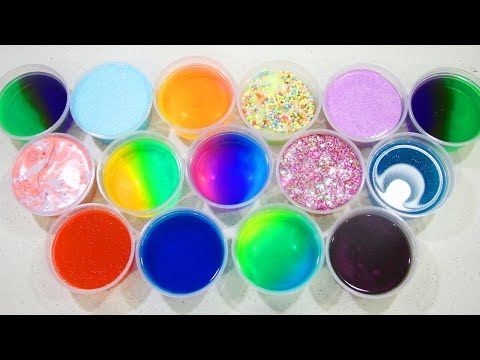 Diy Mixing Clean Bought Slime & Foam in to Cool Slime😘😱👍😜