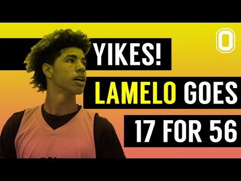 YIKES! LaMelo scores 50 points on 56 shots! Big Ballers LOSE!