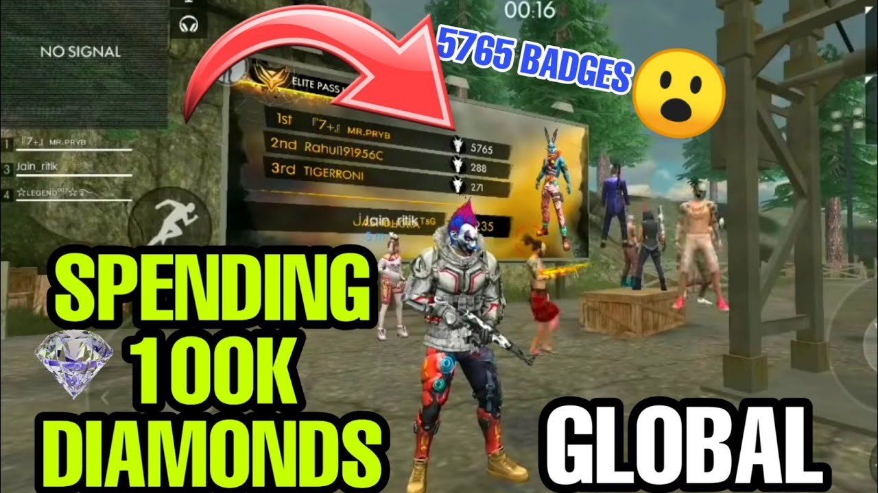 Playing With No 1 Player In India Hacker Global Top 10 Garena Freefire Youtube