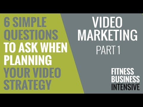 EP 162: 6 Simple Questions to Ask When Planning Your Video Marketing Strategy
