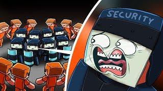 Minecraft - PRISONERS VS POLICE! (Prison Riot in Minecraft)