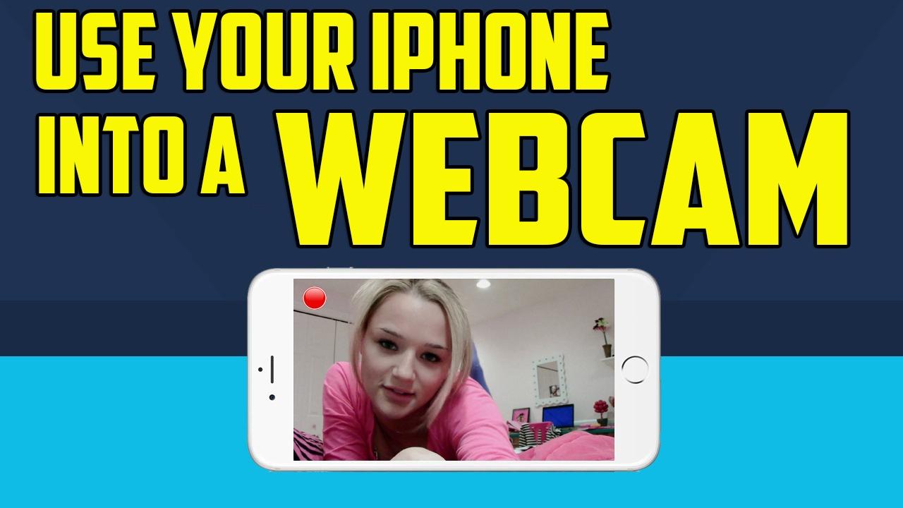 iphone as webcam free