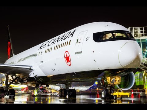 Boeing 787   Complete Pushback With Instructions   Air Canada   Mumbai Airport