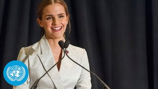 Emma Watson at the HeForShe Campaign 2014 - Official UN Video thumbnail