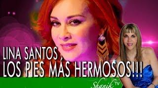 LINA SANTOS, LA MUJER DE LOS PIES MÁS HERMOSOS DE TODO MÉXICO!!!